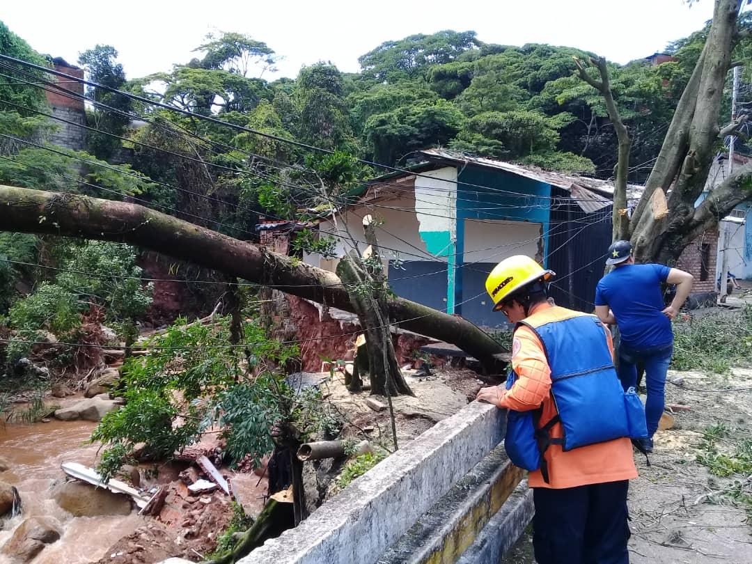 viviendas lluvias colapso emergencia Foto cortesía